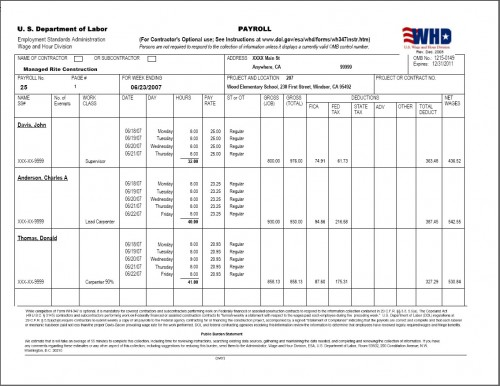 Certified Payroll Form Questions Divorce Papers Look Like - certified payroll form