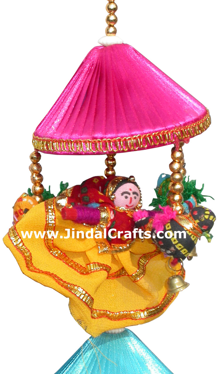 Dolls hanging home decoration india handicrafts crafts