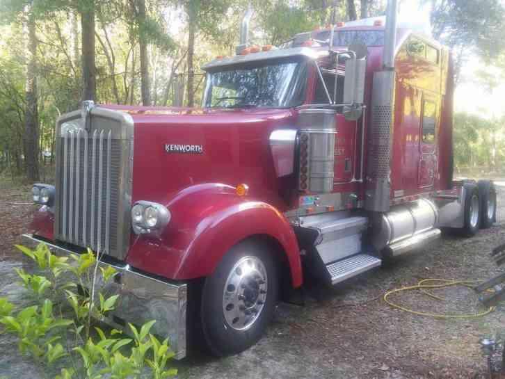 Kenworth W900 L 2000 Sleeper Semi Trucks
