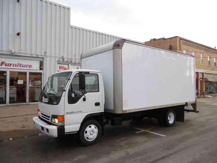 isuzu box truck auction