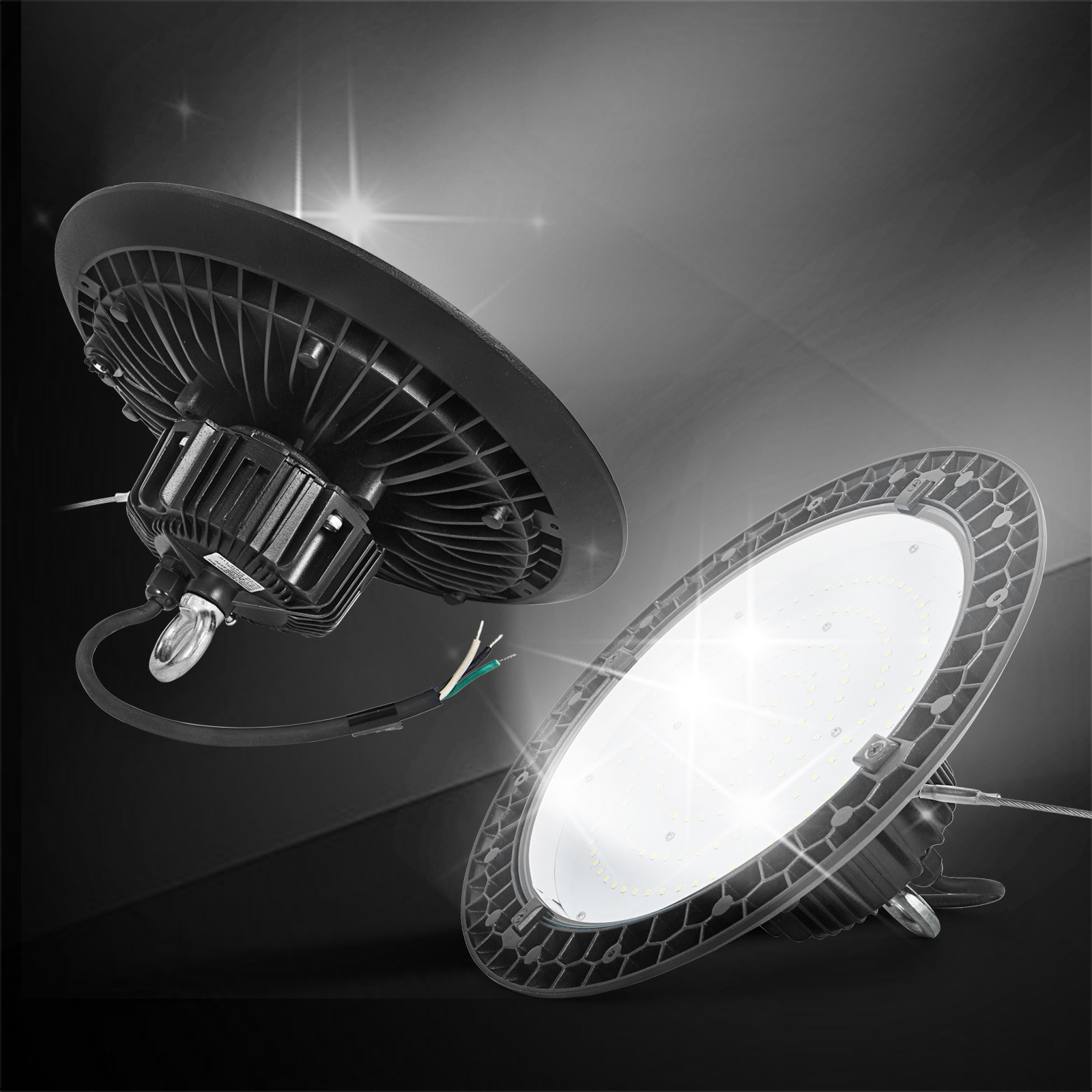 Led Light Shop 24 Ufo Led High Bay Light Fixture Warehouse Shop Lights