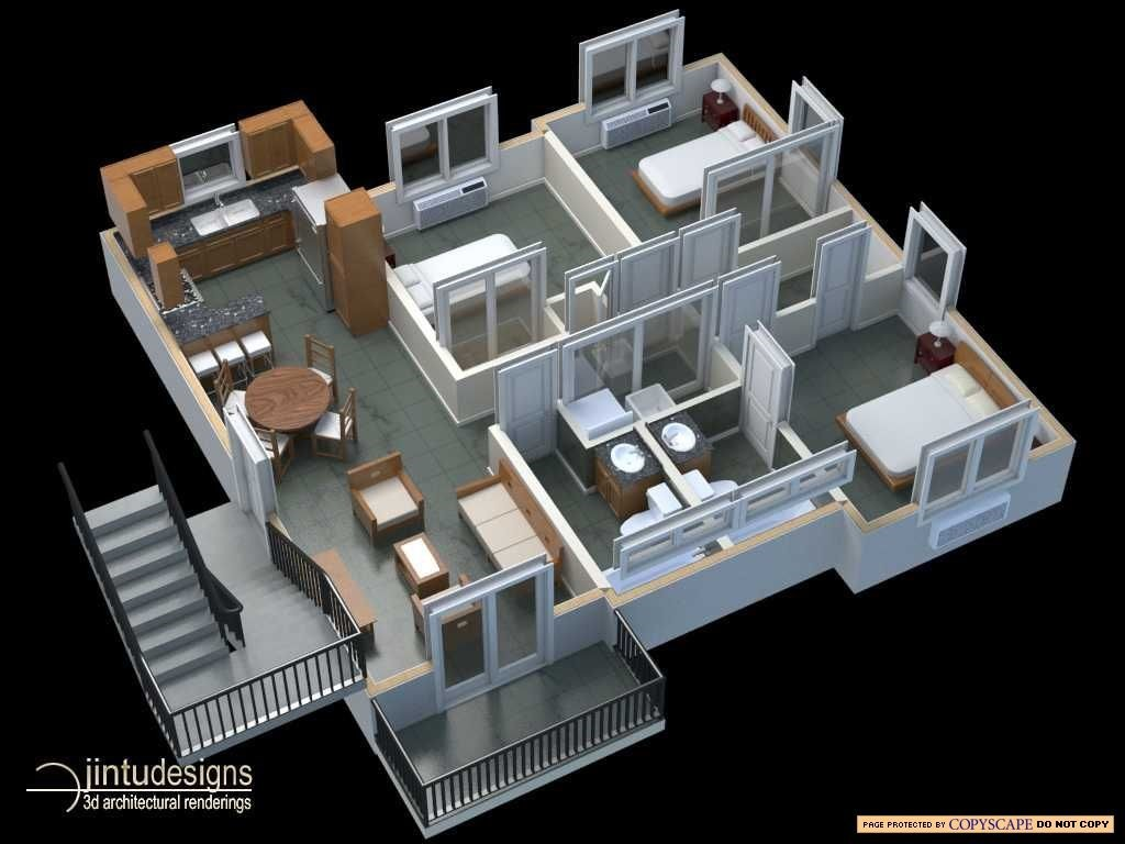 3d Planer 3d Floor Plan Quality 3d Floor Plan Renderings
