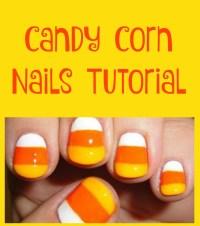 Candy Corn Nails Tutorial - Jinxy Beauty