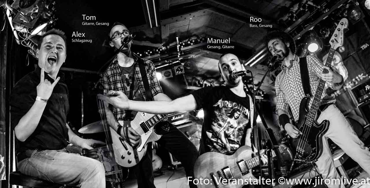 """""""Innviertel rocks!"""" – die innviertler Band i Tüpfe Rider"""