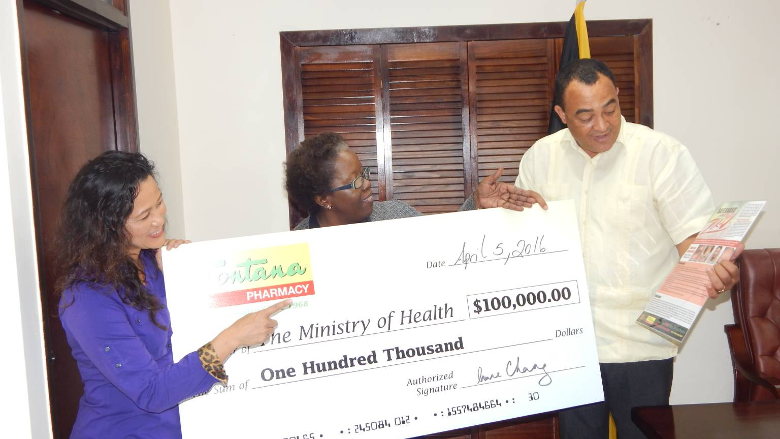 Zika Prevalence In Jamaica Fontana Pharmacy Donates 100 000 To Assist Zika Fight