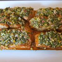 Ted Reader's Cedar-Planked Salmon