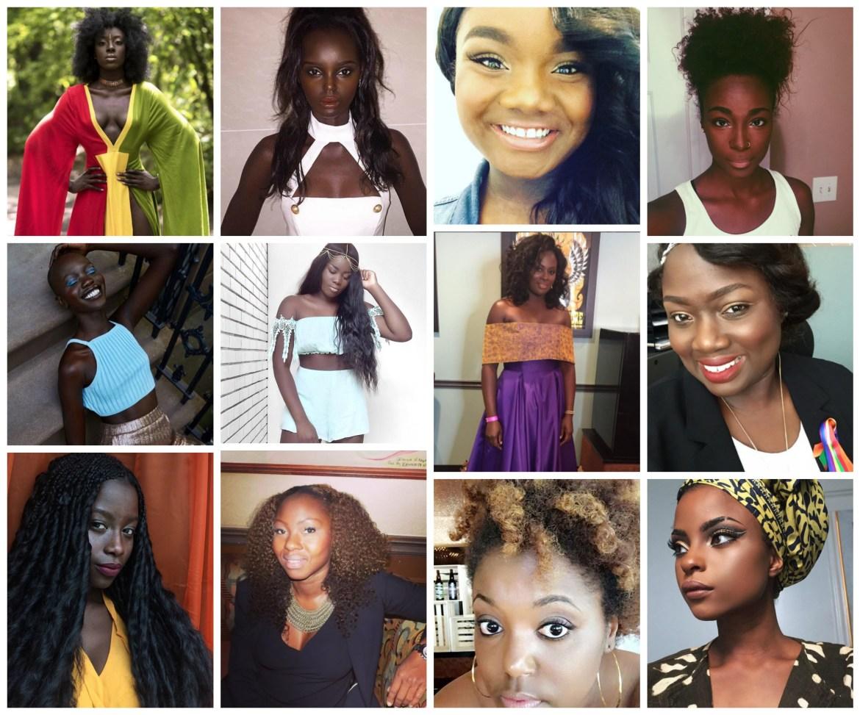dark skin beauties