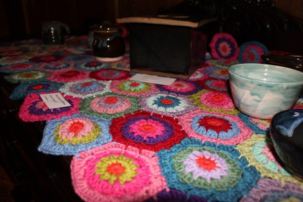 Crochet Hexagon Blanket