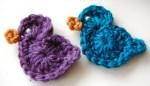 Free Crochet Bird Applique Pattern