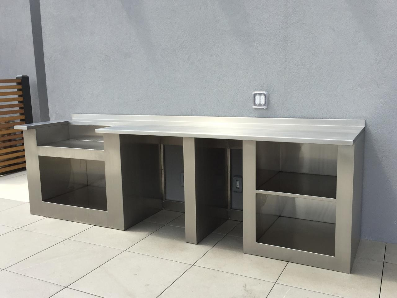 Outdoor Stainless Steel Cabinets J And J Stainless Steel Supplies Inc Outdoor Bbq Cabinets