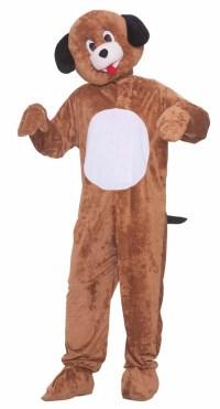 PLUSH FURRY PUPPY DOG Adult STANDARD Mascot Suit Costume ...
