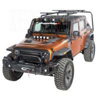 Sherpa Roof Rack Kit 07-15 Jeep Wrangler Unlimited JK 4-Door