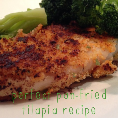 perfect pan-fried tilapia