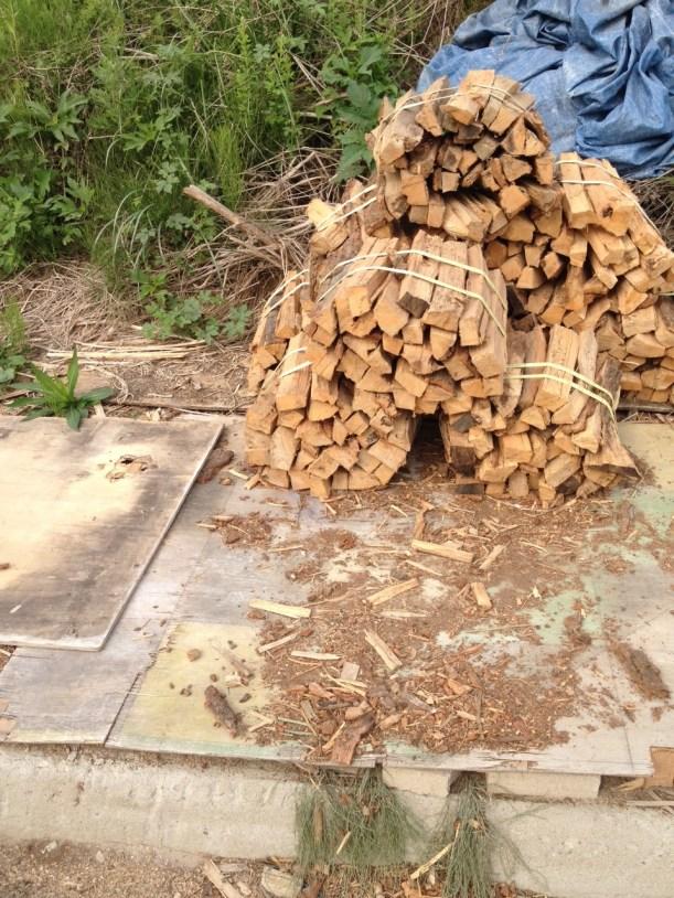 Chamnamunara firewood