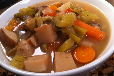 JL's Very Veggie Pressure Cooker Soup
