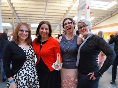 #vvc2013 Dianne, Sharon, Jennifer and JL