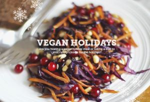 home for the vegan holidays | attune foods Pinterest Sweepstakes