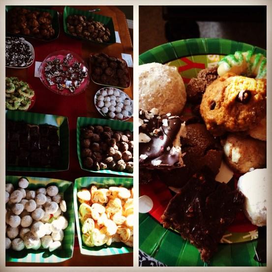 vegan holiday cookie swap   the goods