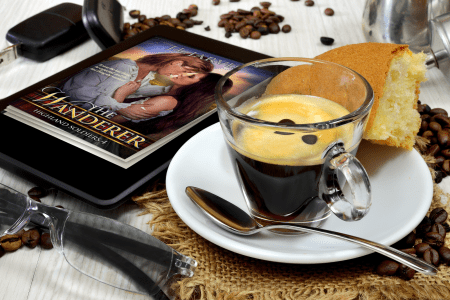 Coffee & The Wanderer on eBook page