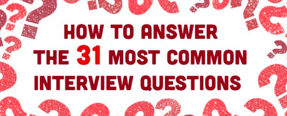 How to Answer the 31 Most Common Interview Questions \u2013 JLR Associates