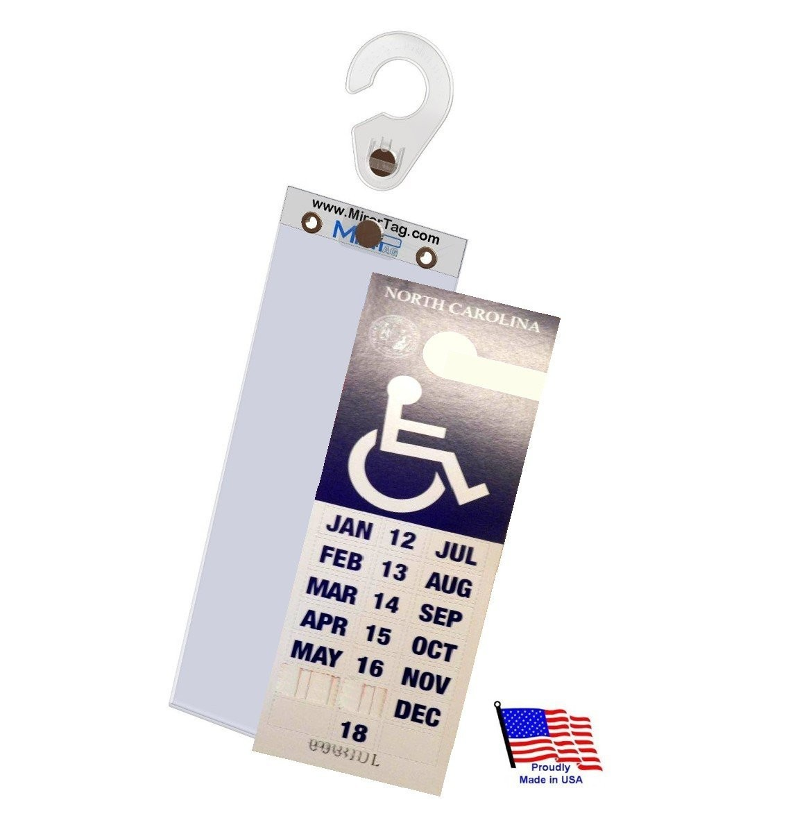 Placard Plus Protect And Display Your Handicap Parking Permit In A Snap Mirortag