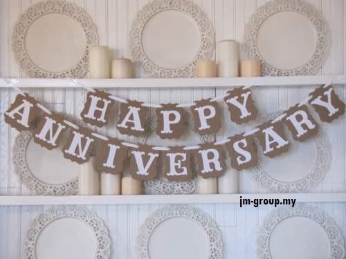 HAPPY ANNIVERSARY BANNER \u2013 JM GROUP