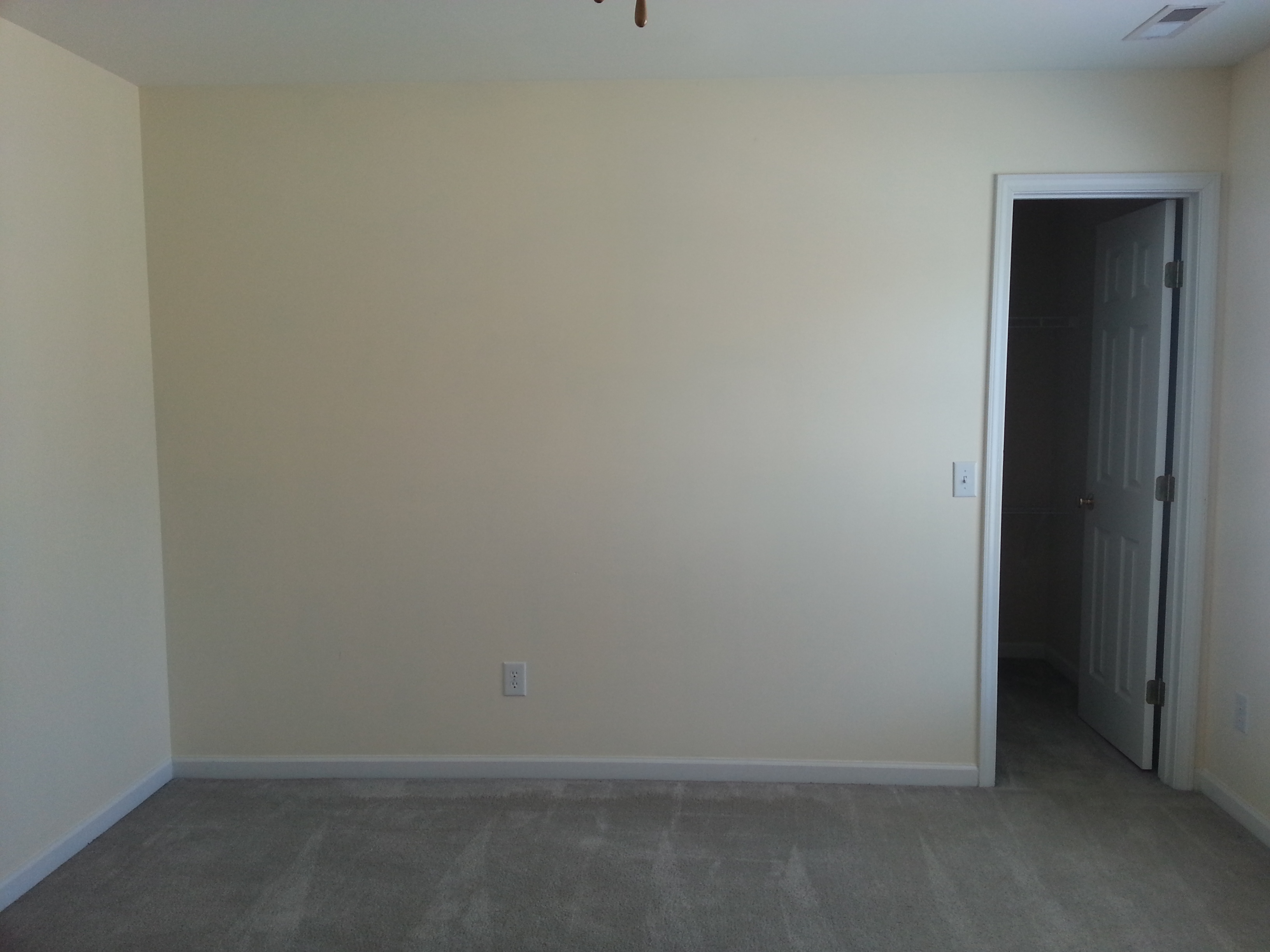 Viewing gallery for empty bedroom with bed