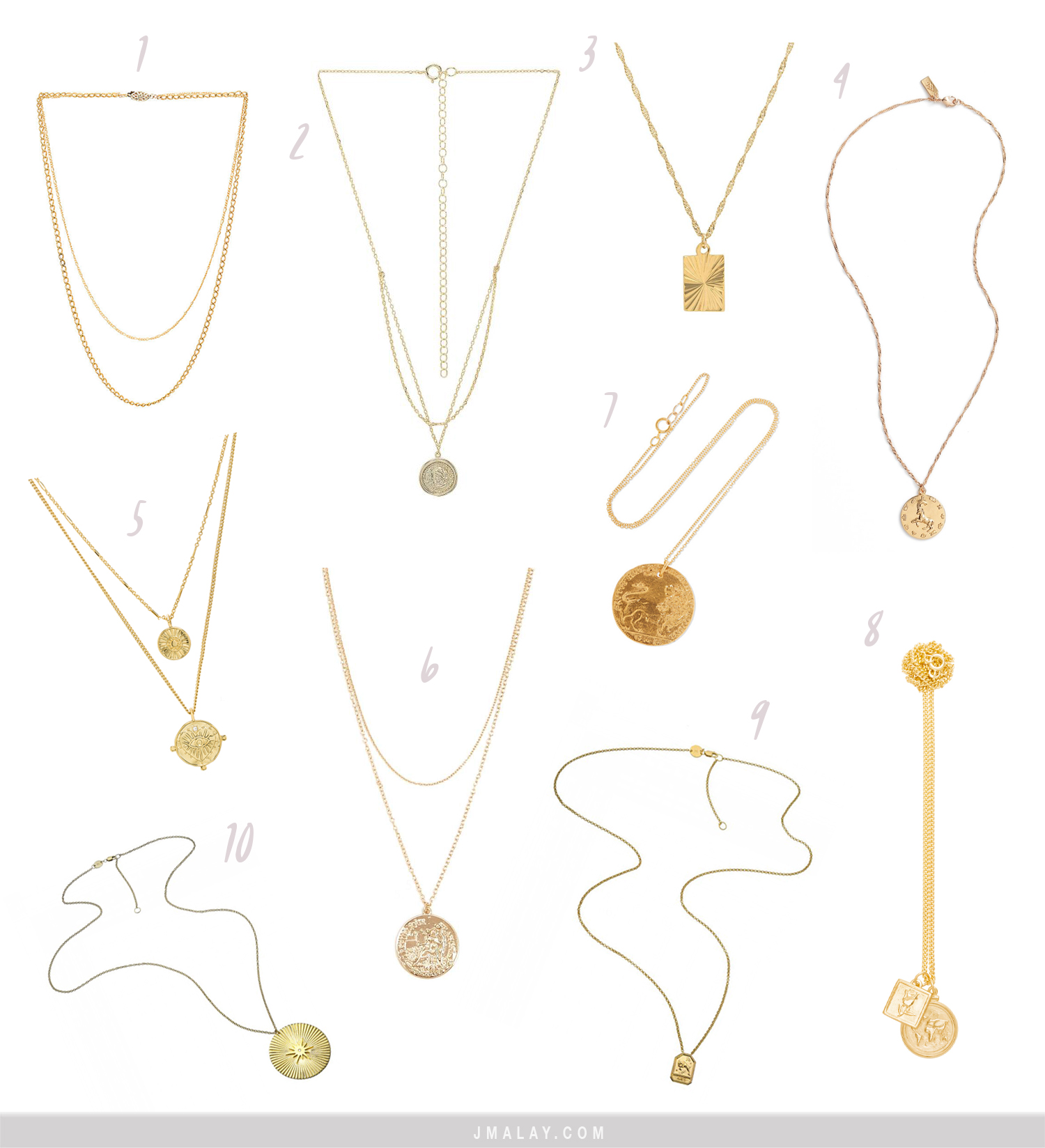 Trend Gold Favorite Pendant Necklaces Of Summer 2018 Mywhitet