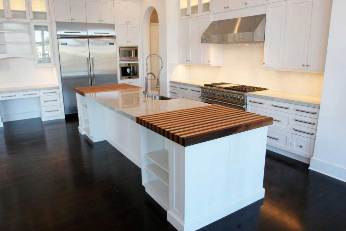 Kitchen Design Ideas Dark Floors Wood Floors Tile Linoleum Jmarvinhandyman