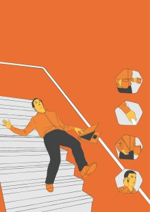 Be Safe Posters 2_Stairs