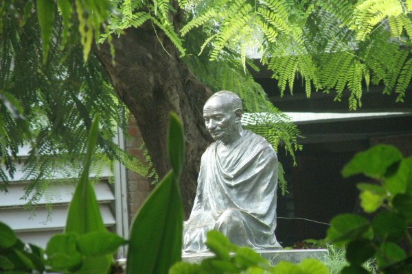 Gandhi Statue