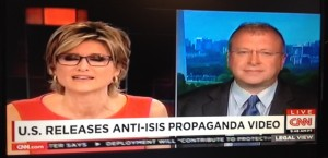 CNN's Ashleigh Banfield interviews Dr Waller about US efforts to counter ISIS propaganda.