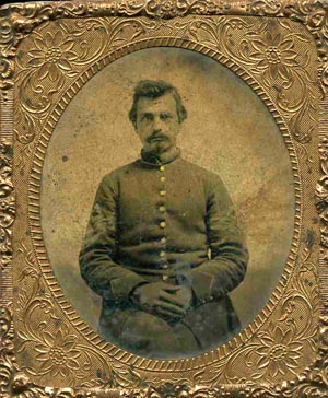 SGT Roland Williston was a volunteer soldier from the 2nd Massachusetts Infantry regiment who fell in 1862, and probably received relief from Clara Barton's American Red Cross.