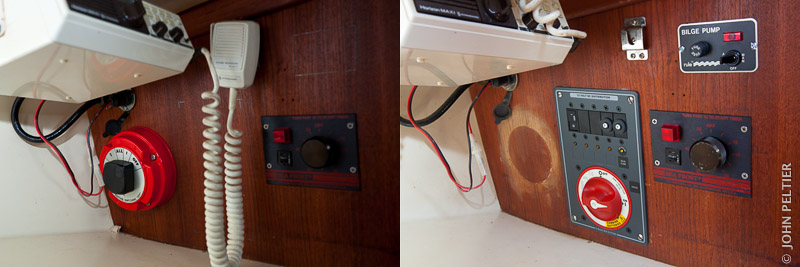 Small Sailboat Electrical Distribution Systems