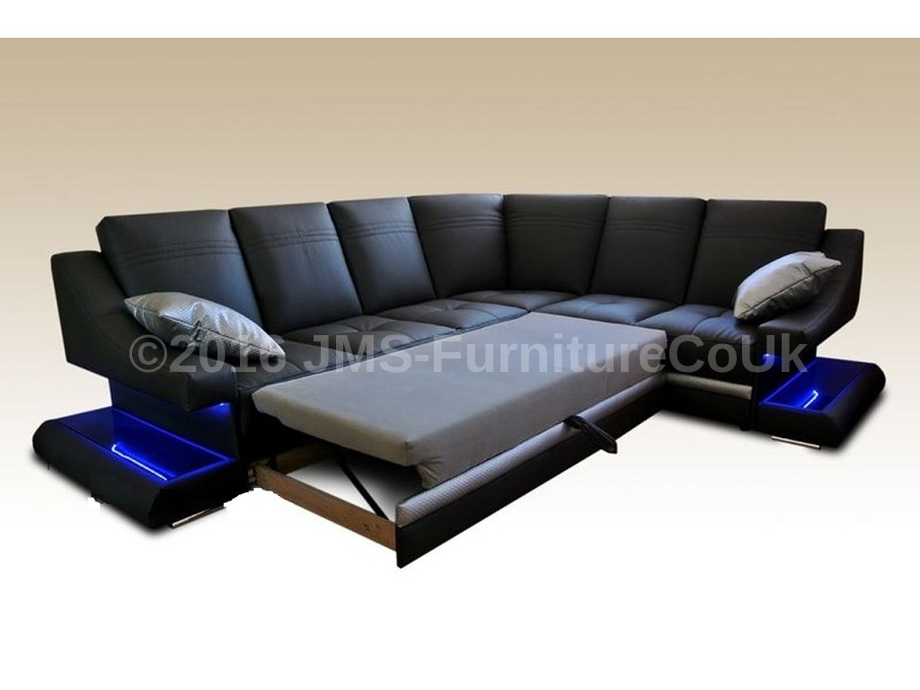 Sofa Led Corner Sofa Bed Virage With Led Lighting Fast