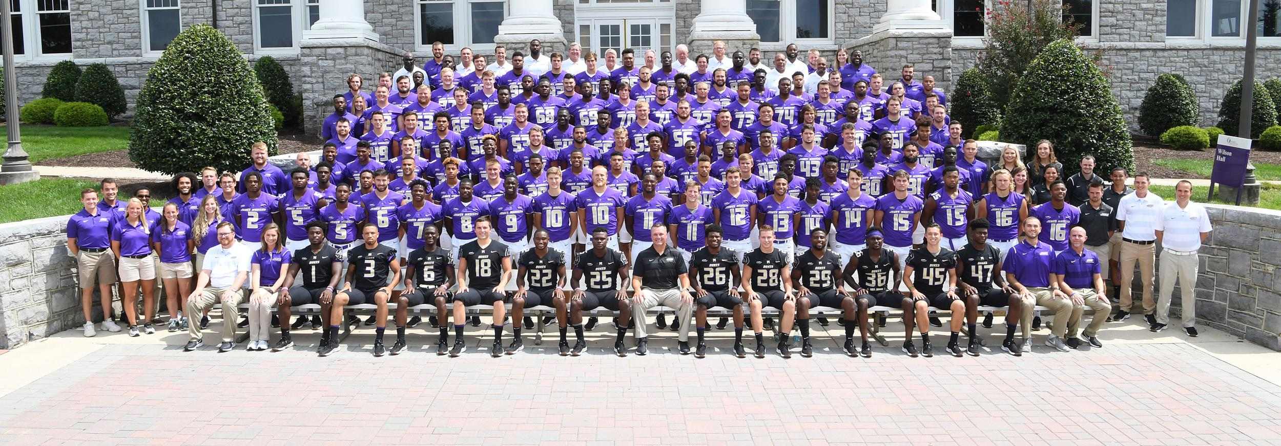 Alabama Football Roster 2018 Football Roster James Madison University Athletics