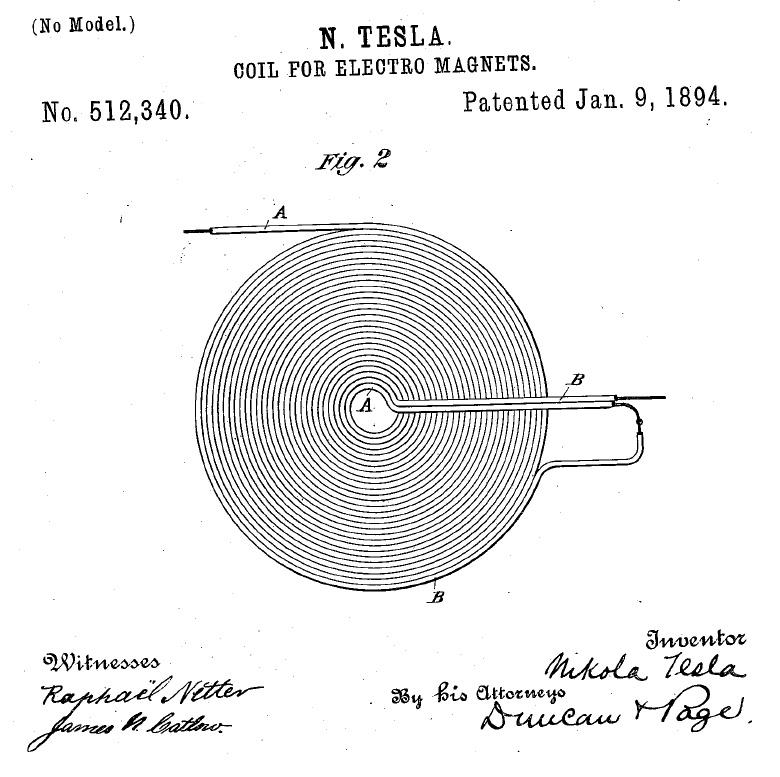 The GEGENE  a Great Efficiency GENErator with a Tesla bifilar coil