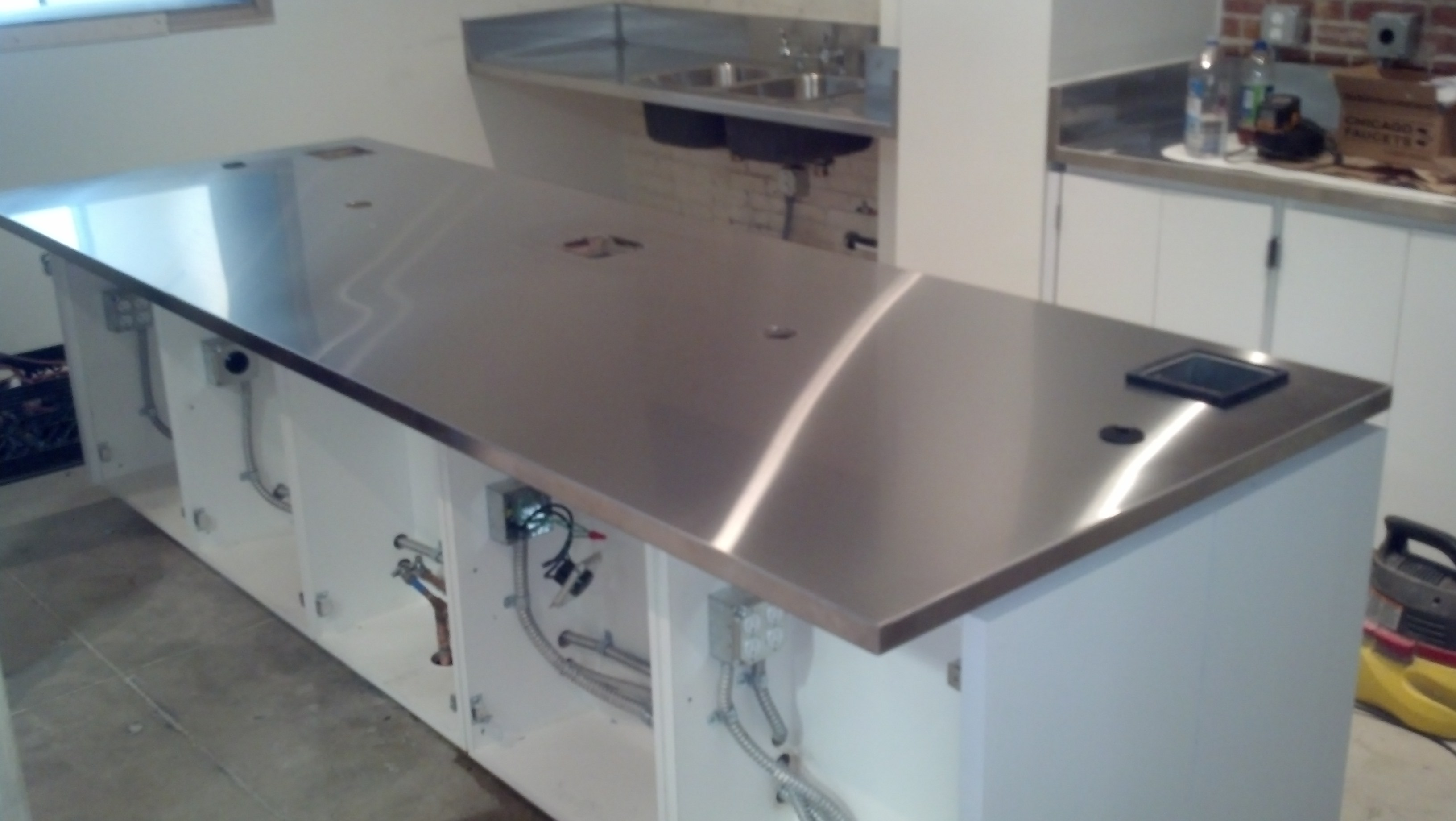 Stainless Countertop Stainless Steel For Your Home And Business