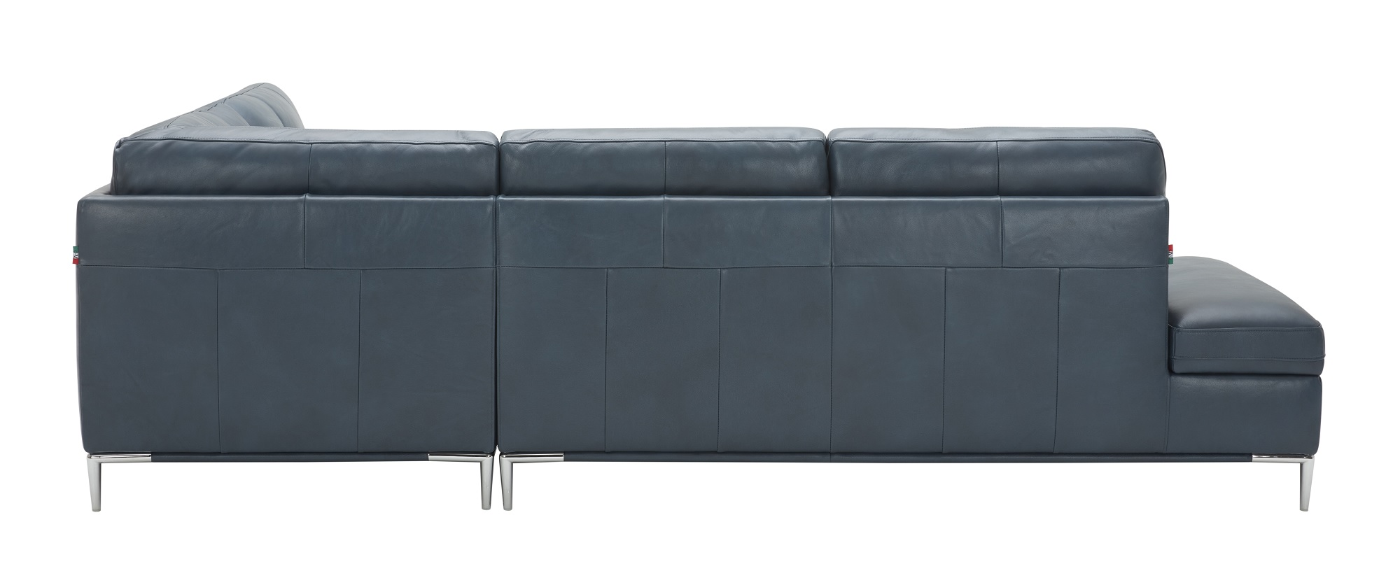 Blue Sectional Leonardo Blue Sectional With Storage