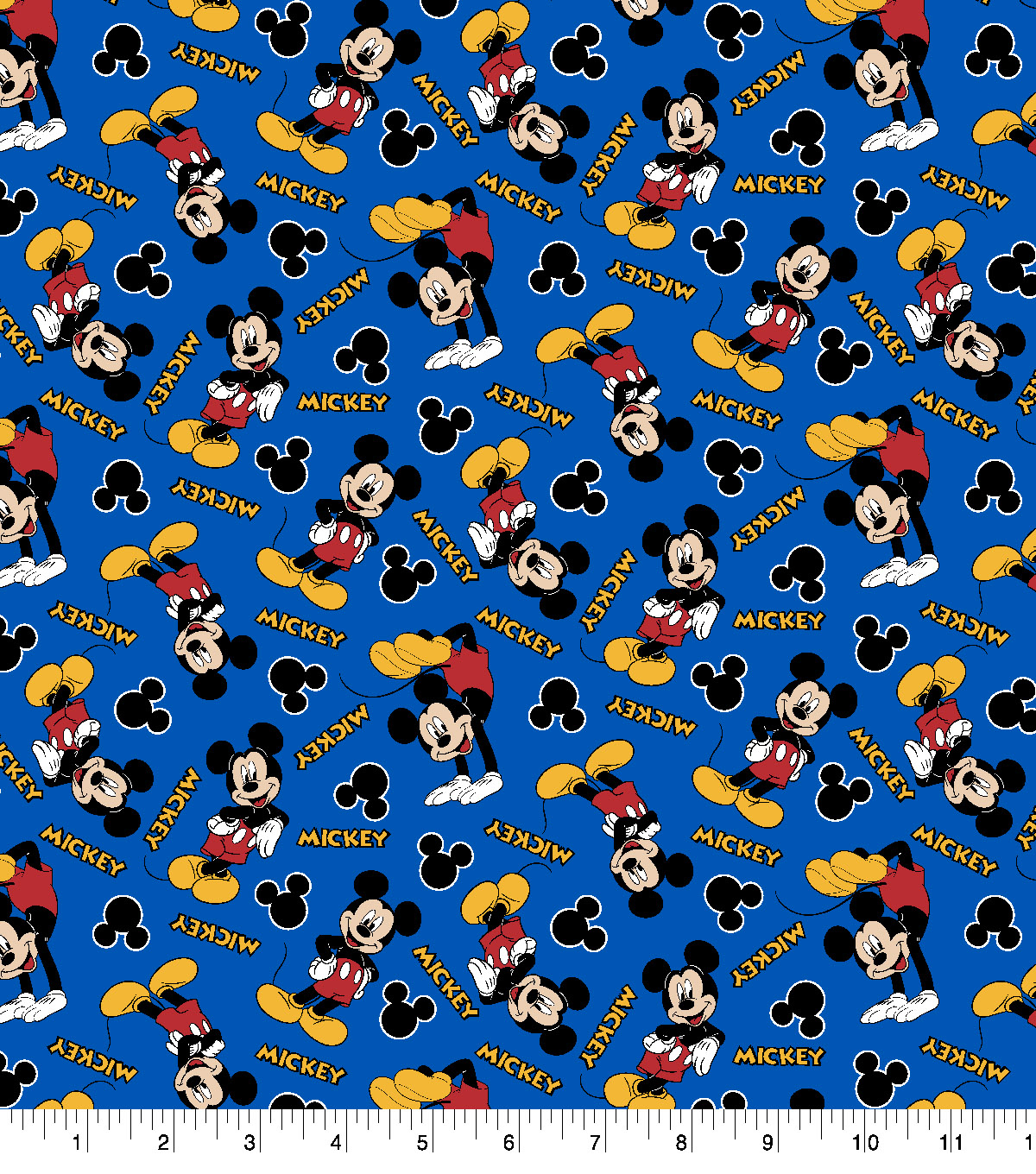 Disney Mickey Disney Mickey Mouse Cotton Fabric 1928