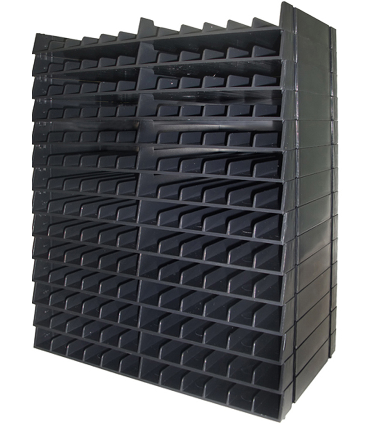 Storage Racks Spectrum Noir Marker Storage Racks Holds 168 Black