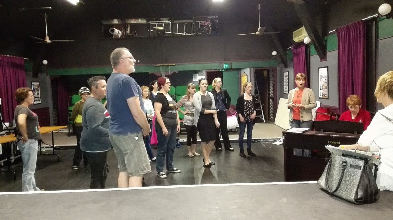 , Dusty The Original Pop Diva rehearsals start!