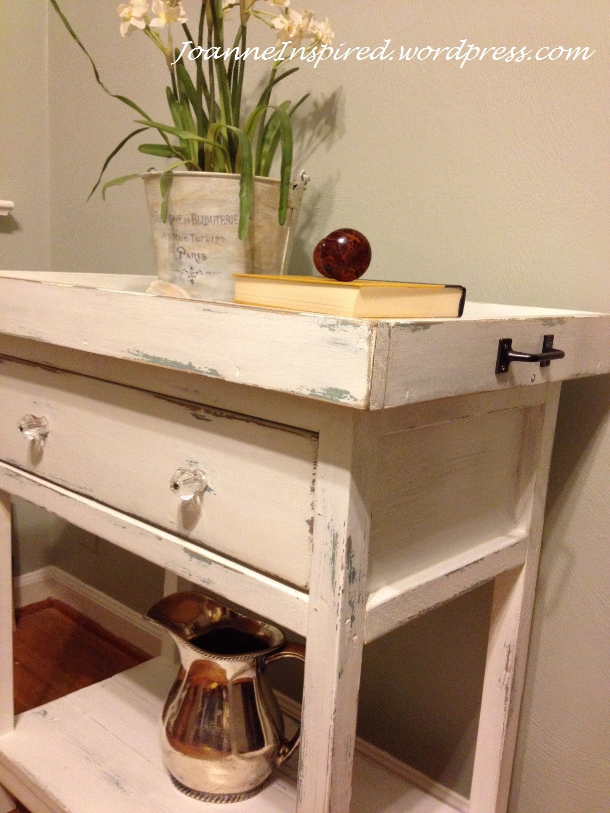 Diy Bedside Table Diy Farmhouse Bedside Table Done Joanne Inspired