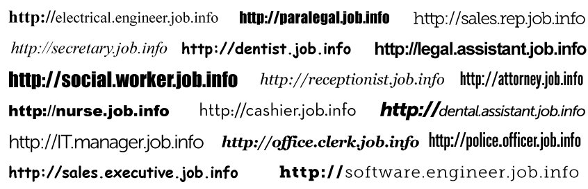 JobInfo - Search For Jobs Using Your Address Bar - leading job search sites