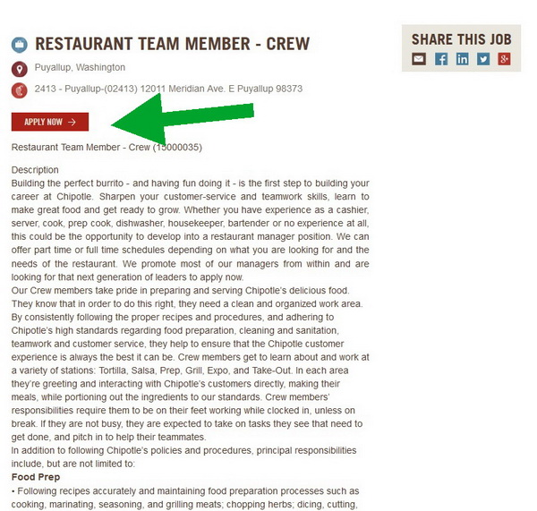Chipotle Career Guide \u2013 Chipotle Job Application 2018 Job