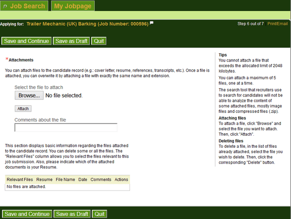 Resume Form For Job Application Ups   Professional resumes sample ...
