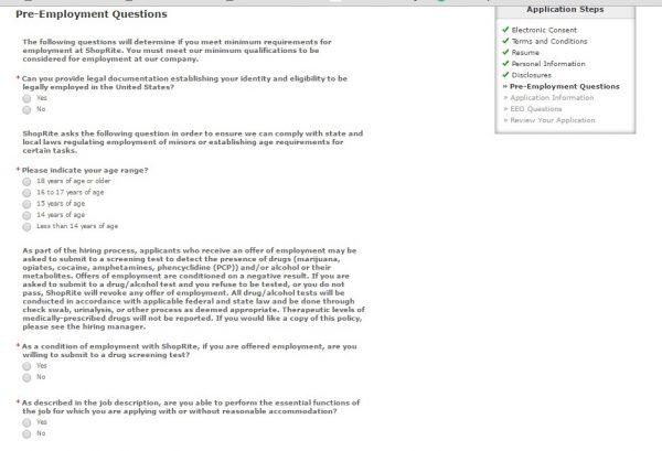 ShopRite Career Guide \u2013 ShopRite Application 2018 Job Application