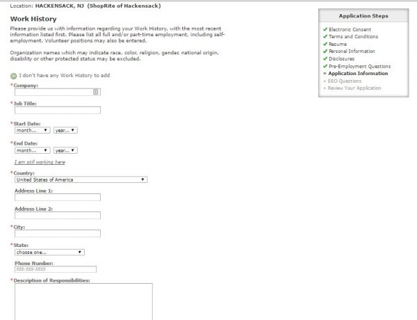 ShopRite Career Guide \u2013 ShopRite Application 2019 Job Application
