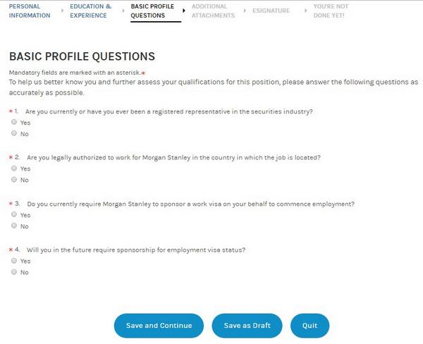 Morgan Stanley Career Guide \u2013 Morgan Stanley Application 2018 Job - morgan stanley cover letter