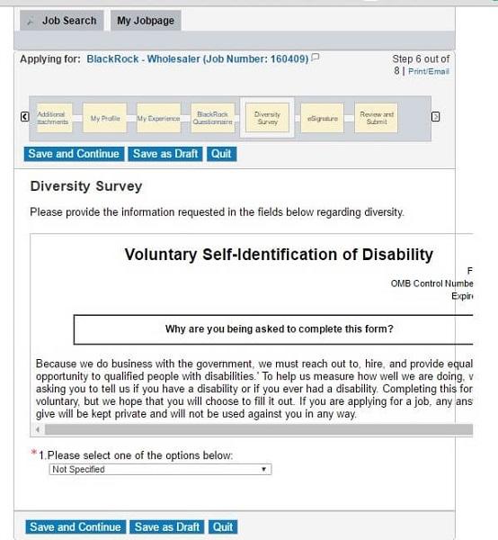 Blackrock Career Guide \u2013 Blackrock ApplicationDisability Application